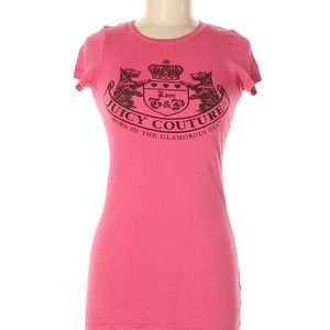 Juicy Couture Size S Short Sleeve T-Shirt